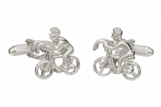 Racing Cyclist Cufflinks